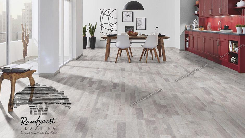 Sàn gỗ công nghiệp Rainforset nhập khẩu Malaysia