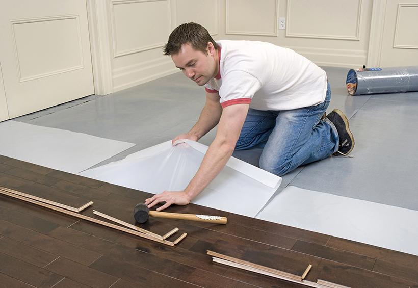 Hướng dẫn cách thi công sàn gỗ công nghiệp