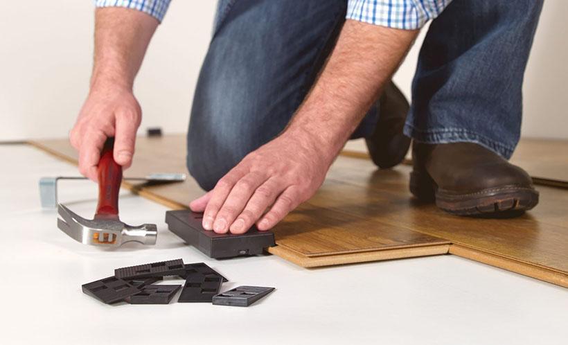 Hướng dẫn cách thi công lắp đặt sàn gỗ công nghiệp