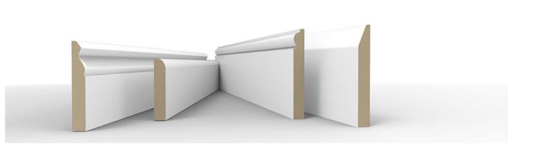 Mẫu phào gỗ chân tường