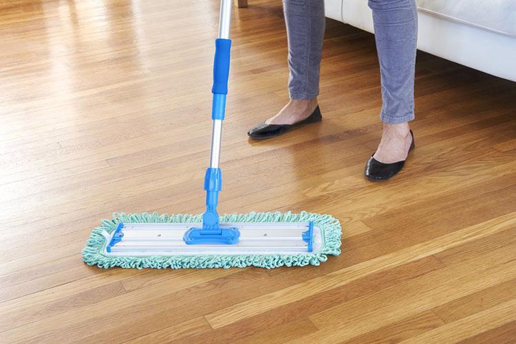 Mẹo bảo quản vệ sinh sàn gỗ công nghiệp