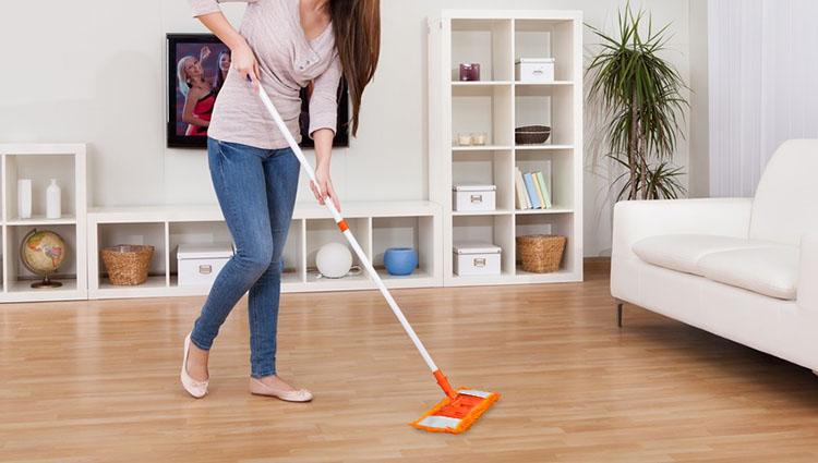 Mẹo bảo quản vệ sinh sàn gỗ