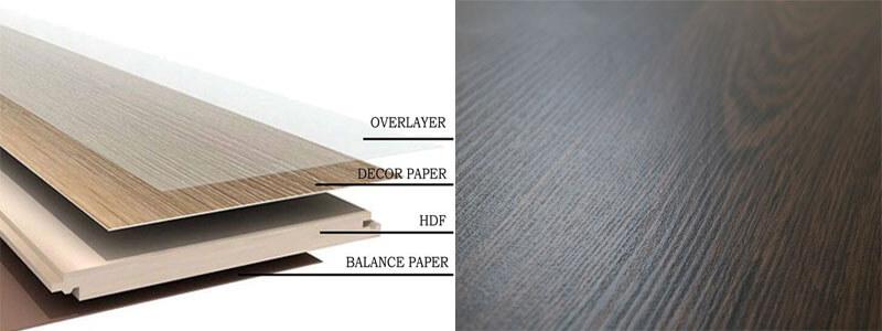 Cấu trúc, cấu tạo bề mặt sàn gỗ công nghiệp cao cấp