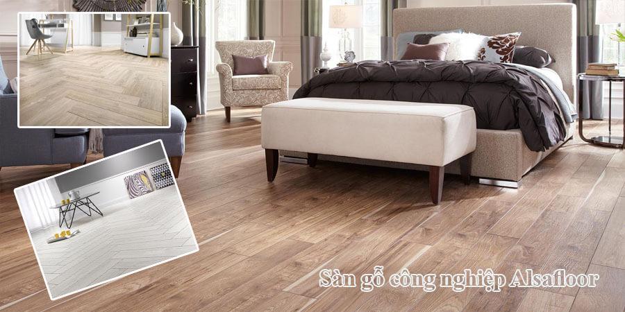 Sàn gỗ Alsafloor nhập khẩu pháp