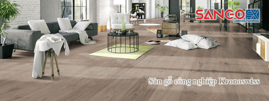 Sàn gỗ công nghiệp Kronoswiss nhập khẩu Thụy Sĩ