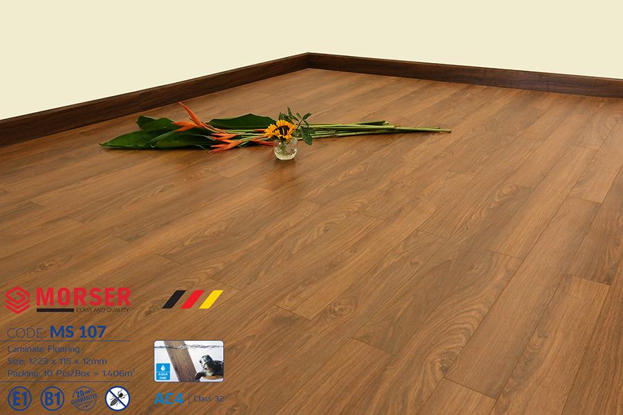 Sàn gỗ công nghiệp Morser sản xuất tại Việt Nam