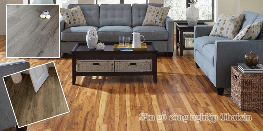 Sàn gỗ công nghiệp Thaixin nhập khẩu Thái Lan