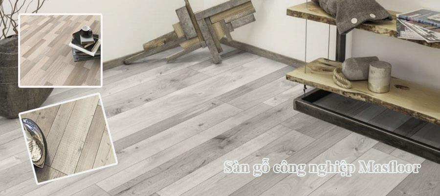 Giá sàn gỗ công nghiệp Masfloor nhập khẩu Malaysia