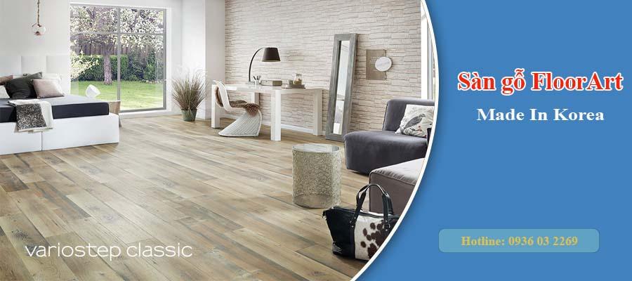 Sàn gỗ FloorArt nhập khẩu Hàn Quốc