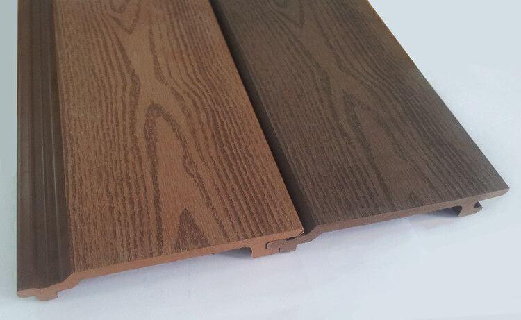 Tấm mái che gỗ nhựa ngoài trời