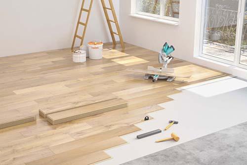 Tư vấn cách tính toán chi phí thi công sàn gỗ công nghiệp + Báo Giá