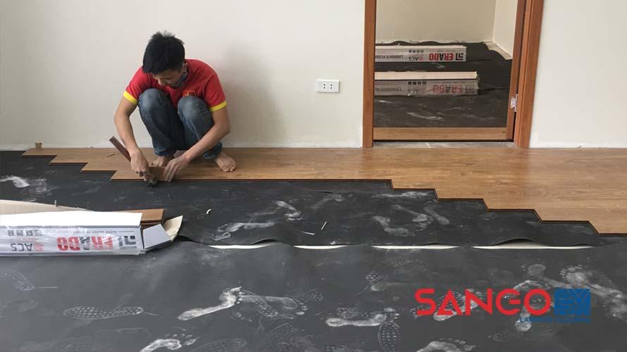 Lót sàn gỗ giá bao nhiêu 1 m2