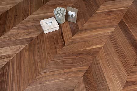 Sàn gỗ lát kiểu xương cá