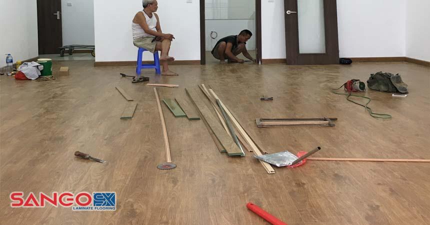 Thi công, lắp đặt sàn gỗ Erado