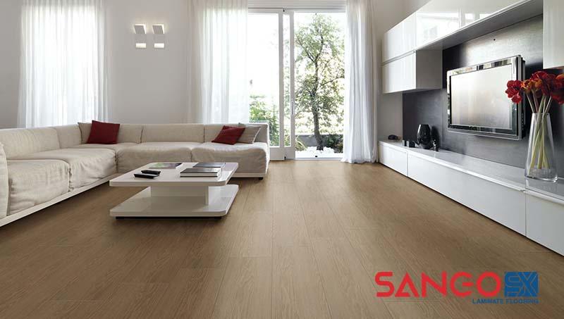 Nên lát sàn gỗ công nghiệp hay gạch men
