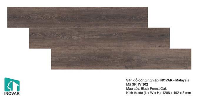 Mẫu sàn gỗ Inovar IV302