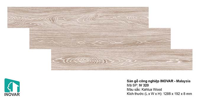 Mẫu sàn gỗ Inovar IV320