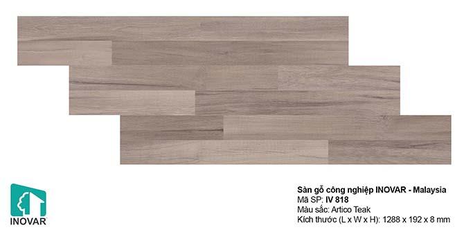 Mẫu sàn gỗ Inovar IV818