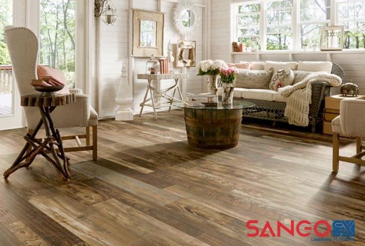 Sàn gỗ công nghiệp cho phòng khách 02