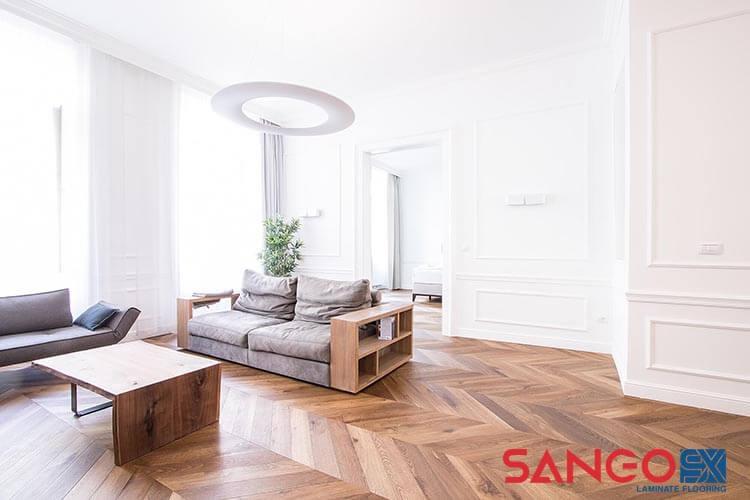 Sàn gỗ công nghiệp cho phòng khách 05
