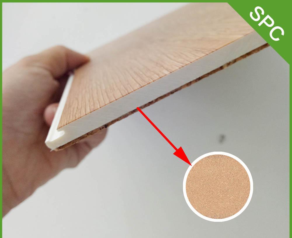 Mẫu sàn nhựa giả vân gỗ SPC