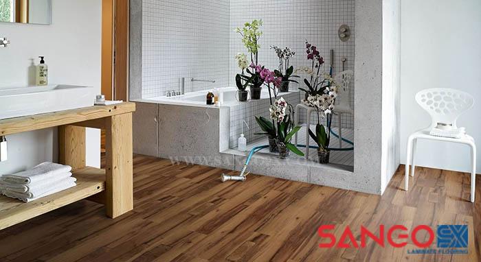 Các loại sàn gỗ công nghiệp trong trang trí nội thất