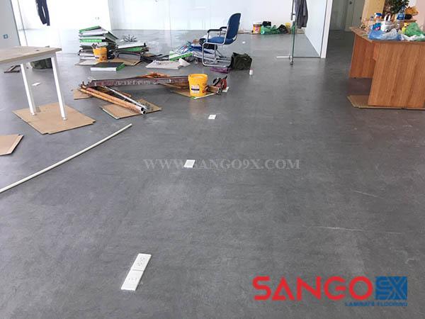 Mẫu sàn nhựa giả vân đá Hà Nội