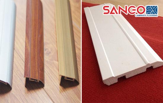 Phụ kiện nẹp, phào chân tường dùng cho sàn gỗ