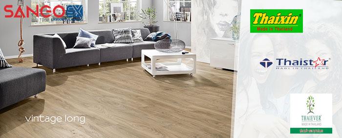 Các loại sàn gỗ Thái Lan