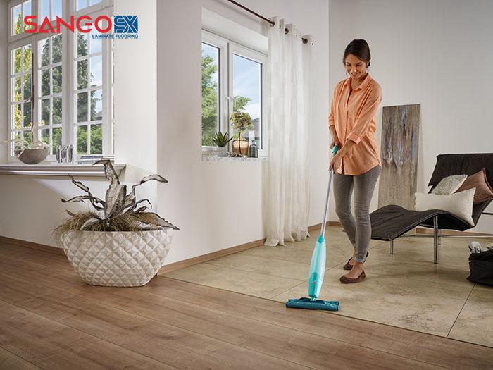 Cách vệ sinh sàn gỗ sạch hiệu quả