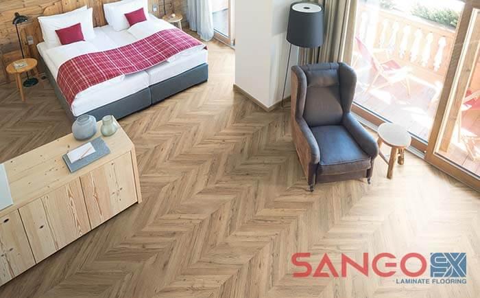 Mẫu sàn gỗ Egger của Đức vân gỗ xương cá