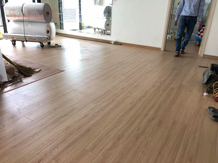 Mẫu sàn gỗ Thái Lan thi công hoàn thiện giá siêu khuyến mại tại Hà Nội