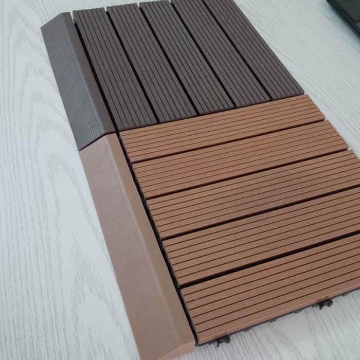 Ưu điểm của gỗ vỉ nhựa lót sàn ngoài trời