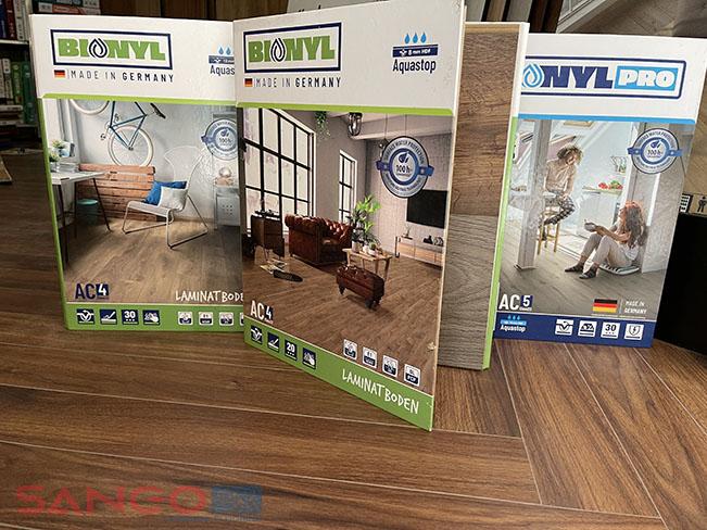 Bộ mẫu sàn gỗ công nghiệp Binyl