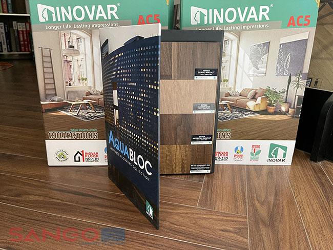 Bộ mẫu sàn gỗ Inovar