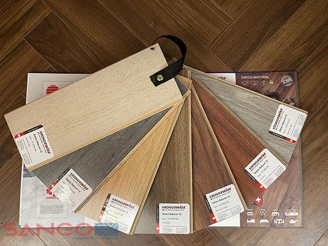 Sàn gỗ Kronoswiss 12mm bản nhỏ