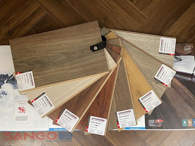 Sàn gỗ Kronoswiss 8mm bản to