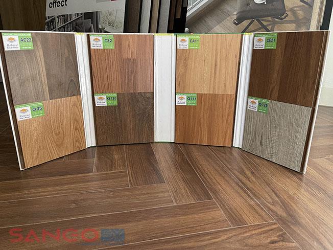Mẫu sàn gỗ Robina 8mm bản to
