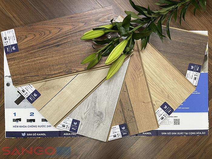 Sàn gỗ Kaindl Aqua Pro 12mm hèm V