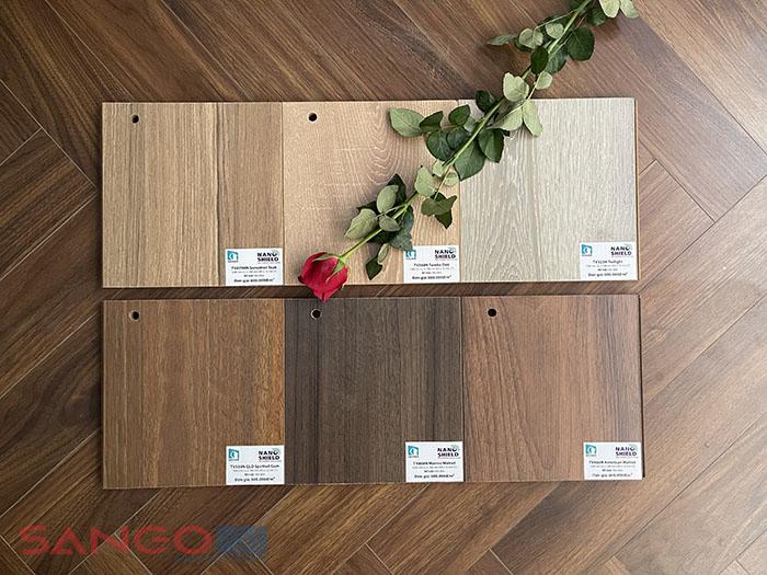 Mẫu sàn gỗ Inovar Nano shield