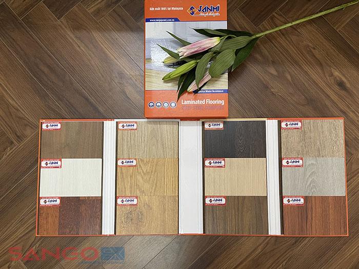 Mẫu sàn gỗ Malaysia Janmi