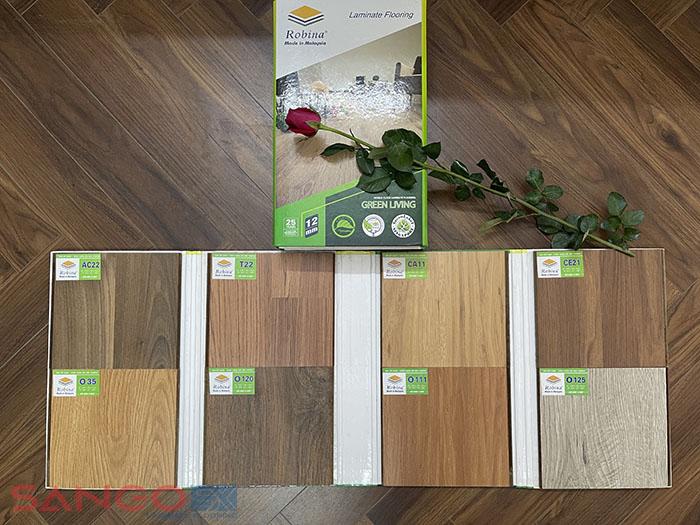 Mẫu sàn gỗ Malaysia Robina