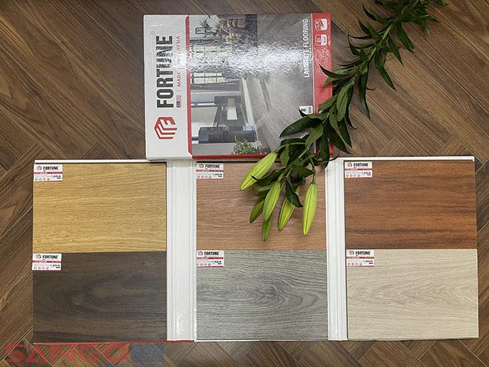 Mẫu xách tay sàn gỗ Fortune 8mm
