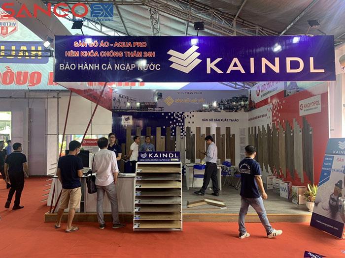 Sàn gỗ công nghiệp Áo thương hiệu Kaindl tại Vietbuidl