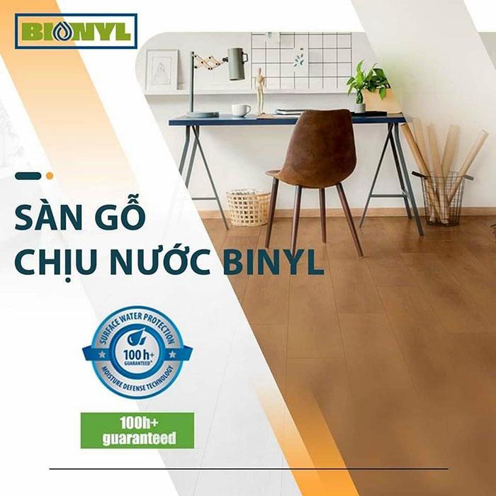 Sàn gỗ đức chịu nước Binyl