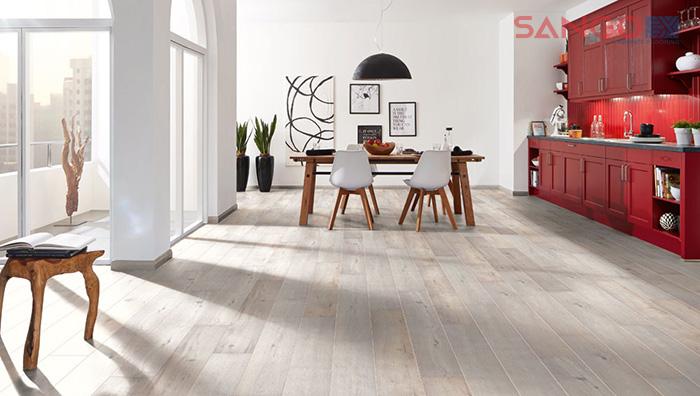 Kích thước phổ biến của sàn gỗ công nghiệp