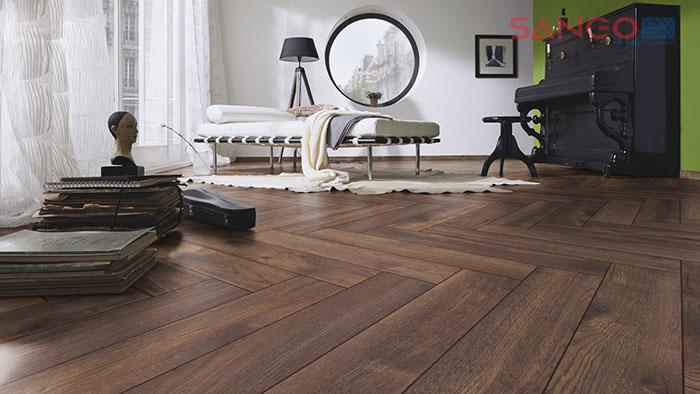 Sàn gỗ ốp kiểu xương cá loại nào tốt nhất
