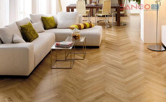 Sàn gỗ xương cá sàn gỗ 9x