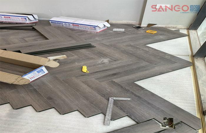 Hướng dẫn thi công sàn gỗ xương cá